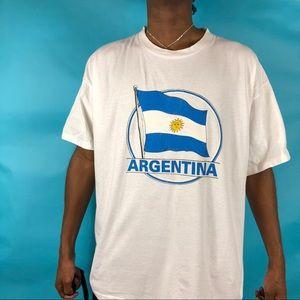 Signal Sport mega cottons Argentina Flag  XL